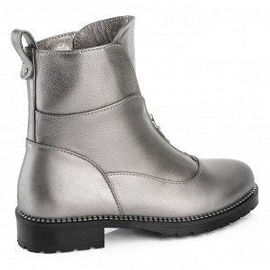 Женские ботинки. Модель 3227 б металл (демисезон)