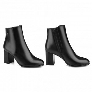 Ботинки на среднем каблуке. Модель 3234 б (демисезон)