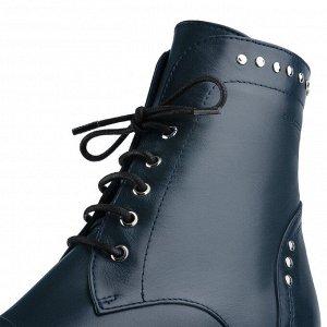 Ботинки женские. Модель 3237 б синий (демисезон)