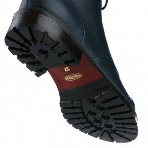 Синие ботинки-берцы женские. Модель 3225 б эк синий друид (демисезон)