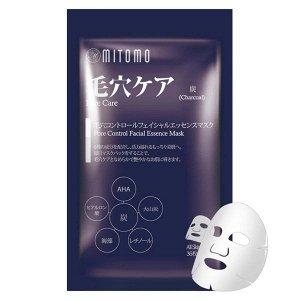 Премиум серия Mitomo Маска для лица с древесным углем, 36шт (600гр)