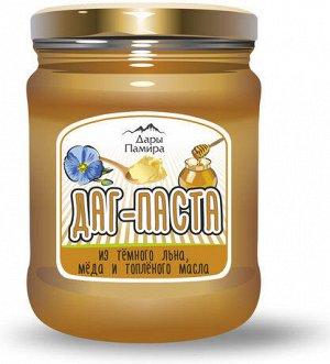 Даг-паста (урбеч лён + топлёное масло + мёд), 230г