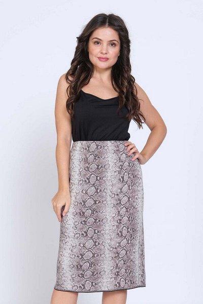 Женская одежда, вязаный трикотаж от фабрики Стиль — Юбки — Длинные юбки