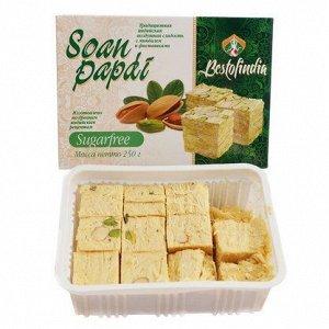 Индийская сладость Соан Папди  без сахара 250г