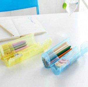 Футляр для кистей, карандашей. Пластик