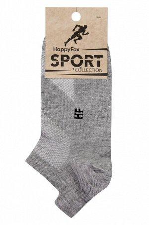 Укороченные спортивные носки с сеткой