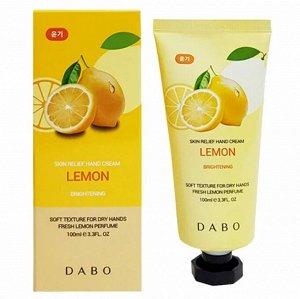950383 DABO Крем для рук с экстрактом лимона 100 мл