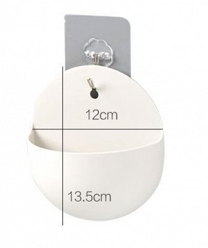 Мини-кашпо крючок на клейкой основе в комплекте
