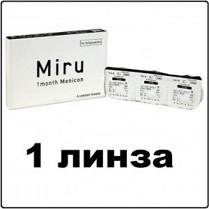 Контактные линзы Miru 1month for Astigmatism / CYL -0,75 / AX 010 / 1 линза
