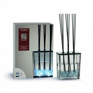 Аромадиффузор Тек и Тонка 500мл (ваза + декоративный наполнитель + 10 лавсановых палочек + аромат  500 мл)