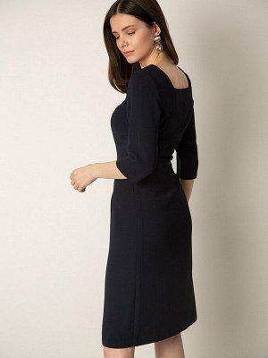 Платье однотонное PL1029/beley