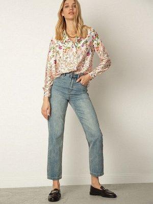 Блуза с цветочным принтом B2412/copens