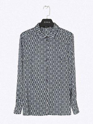 Блуза с принтом B2412/lipsen