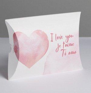 Подарок. Размер коробочки 11 × 8 × 2 см, Женский аромат Cutie Pink 2мл, открытка, сладкий презент(мармелад, шоколад,жевательная резинка или конфеты на выбор поставщика)