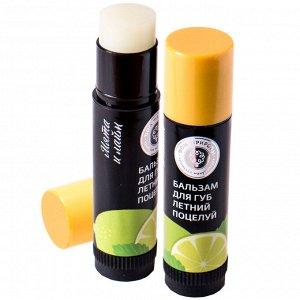 Натуральный бальзам для губ «Летний поцелуй» Дом Природы 6 г