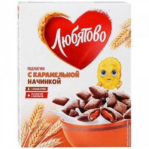 """Подушечки """"Любятово"""" с карамельной начинкой 250 г"""