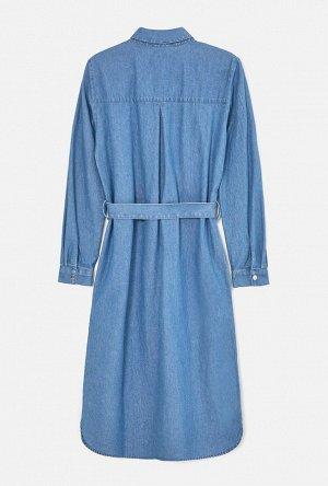Платье джинсовое жен. ONIUS синий