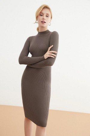 Платье жен. Vi_SS21 коричневый