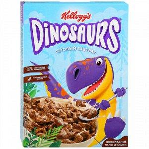 Готовый завтрак Kellogg's Dinosaurs из злаков Шоколадные лапы и клыки 220 г