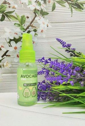 Фиксатор для макияжа с экстрактом авокадо.