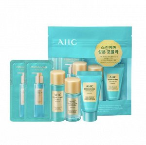 AHC Очищающий набор миниатюр Essence care cleansing trial kit
