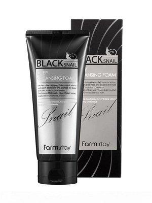 Black Snail Deep Cleansing Foam Пенка для лица с муцином чёрной улитки