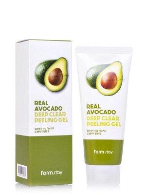 Real Avocado deep clear peeling gel Пилинг-скатка с экстрактом авокадо