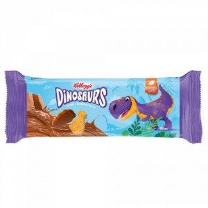 Печенье Kellogg's Dinosaurs сахарное в молочной глазури 191 г