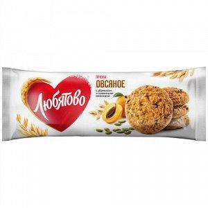 Печенье Любятово овсяное с абрикосом и тыквенными семечками 200 г