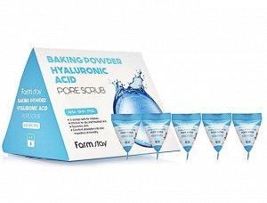 Baking powder hyaluronic acid pore scrub Содовый скраб для лица с гиалуроновой кислотой