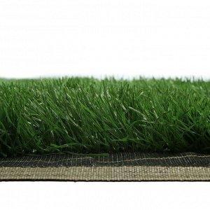 Газон искусственный. для спорта. ворс 50 мм. 2 ? 10 м. тёмно-зелёный