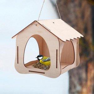 Кормушка для птиц, 19 ? 18,5 ? 18 см