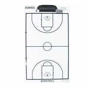 Маркерная тактическая доска для баскетбола