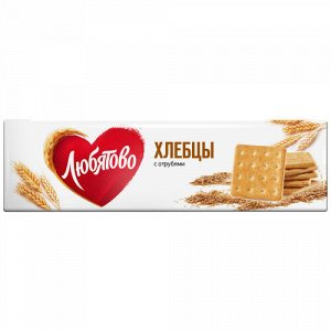 Хлебцы Любятово с отрубями 185 г