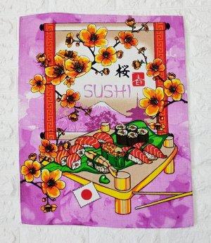 """Полотенце вафельное """"Суши"""""""