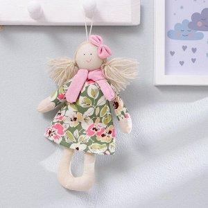 Кукла интерьерная «Маруся», с бантиком и шарфом, цвета МИКС