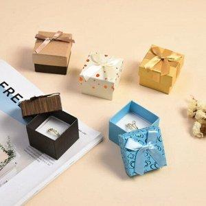 Коробочка подарочная под кольцо в ассортименте