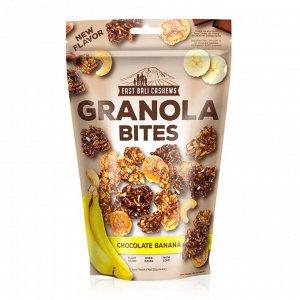 Гранола East Bali Cashews  Шоколад и Банан 125гр