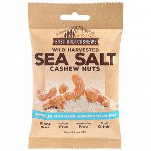 Кешью с Морской солью  East Bali Cashews 35гр