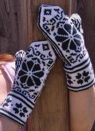 💥Весна! Нижнее белье!Платья!Все скидки в одной закупке!🔥😍  — Варежки и перчатки.  — Вязаные перчатки и варежки