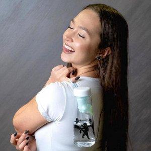 """Бутылка для воды """"Хочется быть взрослой"""", 600"""