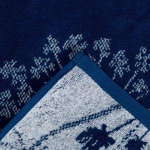 Полотенце махровое Этель «Зонтики» 70х130 см