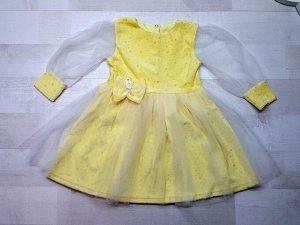 Нарядное платье из велюра