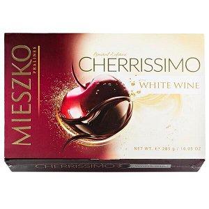 Конфеты MIESZKO CHERRISSIMO WHITE WINE 285 г БРАК