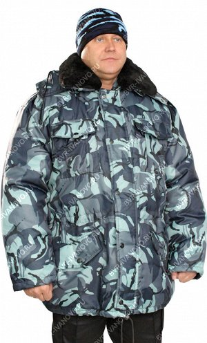 Куртка Зима тк.Оксфорд цв.Серая Кукла