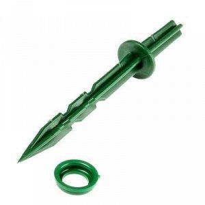 Колышки для крепления укрывного материала, h = 20 см, d = 20 мм, набор 10 шт.