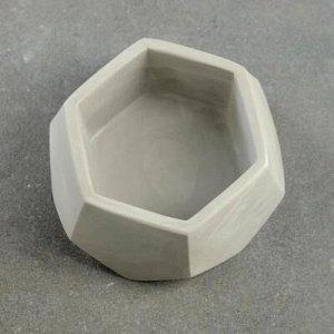 Кашпо Техно VipSet 0,22л серый