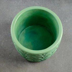 Кашпо Шале VipSet 1,25л зеленый