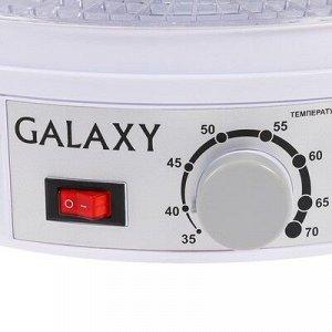 Сушилка для овощей и фруктов Galaxy GL 2631, 350 Вт, 5 ярусов, 17 л, d=30 см, белая