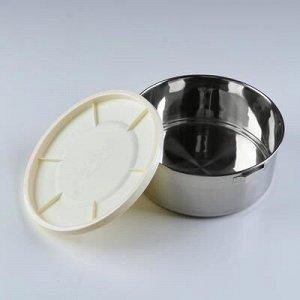 Терсмос для еды DayDays 3 л, сохраняет тепло 4 ч, холод 6 ч, 3 отделения, 21х28 см, микс